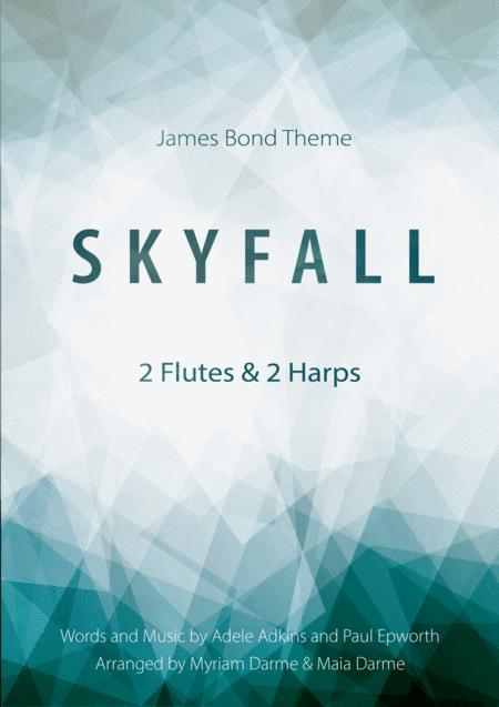 Skyfall - Adele for 2 flutes and 2 harps