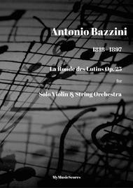 Bazzini La Ronde des Lutins Op. 25 for Violin and String Orchestra