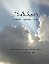 Hallelujah (contemporary arrangement for intermediate piano)