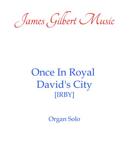 Once In Royal David's City [IRBY]