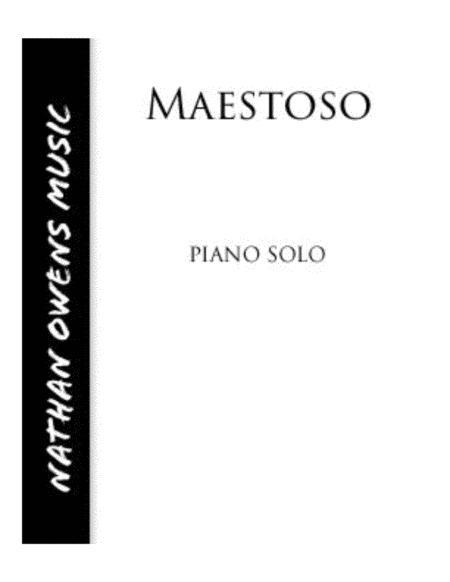 Maestoso - Piano Solo