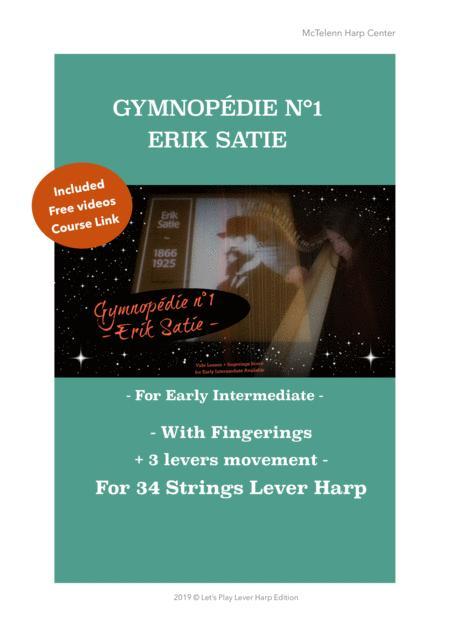 Gymnopédie n°1 - Erik Satie - For Lever Harp - Argt By Eve McTelenn