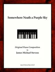 Somewhere Neath a Purple Sky - Romantic Piano