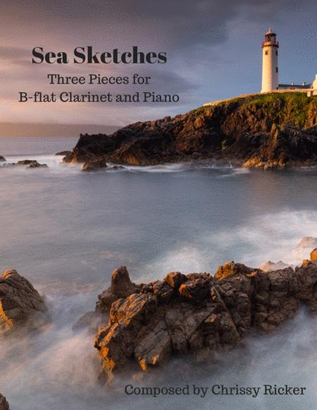 Sea Sketches: 3 Pieces for B-Flat Clarinet and Piano