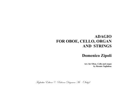 ADAGIO - Arr. for Oboe, Cello and organ - D. Zipoli