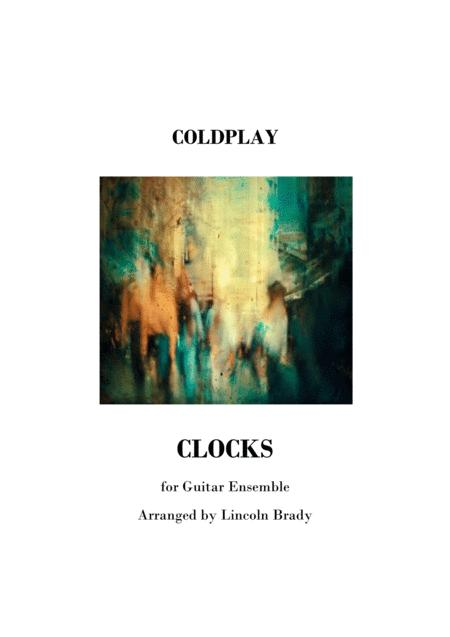 CLOCKS by Coldplay - (Conductor's Score Only)