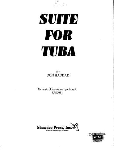 Suite for tuba and piano - Don Haddad