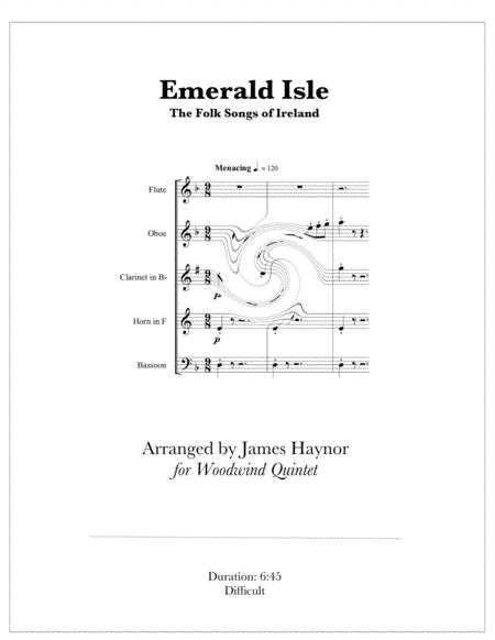 Emerald Isle - The Folk Songs of Ireland for Woodwind Quintet