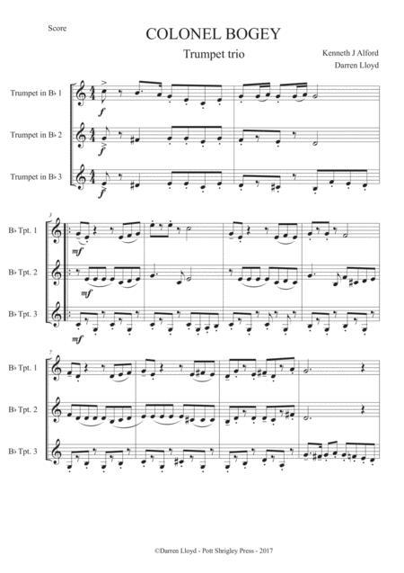 Colonel Bogey - Trumpet Trio