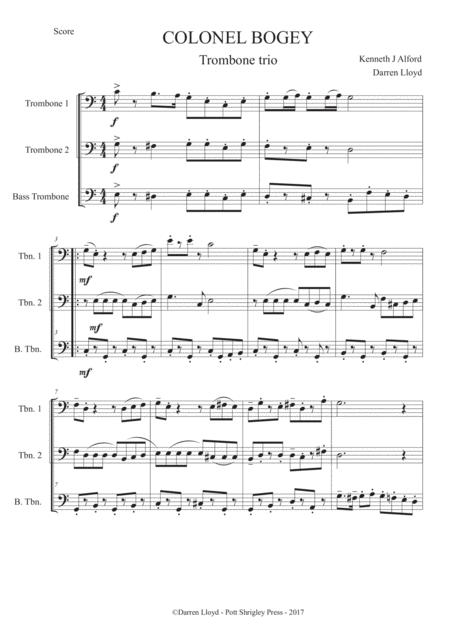Colonel Bogey - Trombone trio