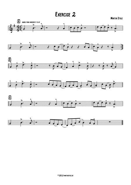 Jazz Exercise 2 Flute