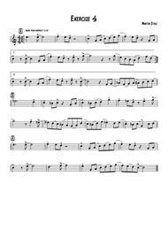 Jazz Exercise 4 Flute
