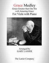 GRACE MEDLEY (for Viola with Piano - Instrument Part included)