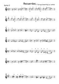Recuerdos de la Alhambra guitar 2