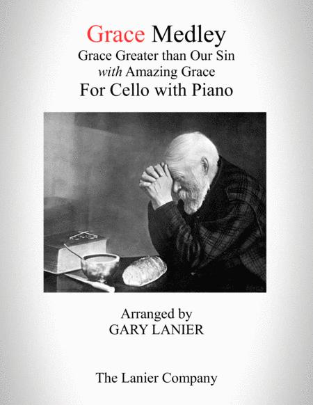 GRACE MEDLEY (for Cello with Piano - Instrument Part included)