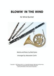 Blowin' In The Wind - Wind Quintet