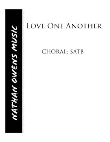 Love One Another - SATB/Piano