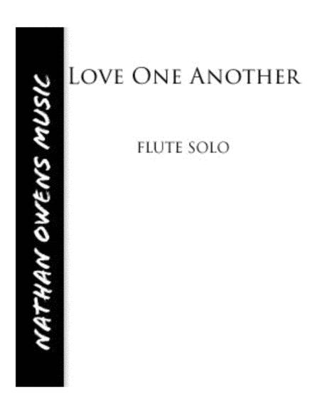 Love One Another - Flute/Piano