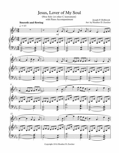 Jesus, Lover of My Soul - Oboe Solo