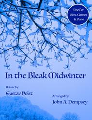 In the Bleak Midwinter (Trio for Oboe, Clarinet and Piano)