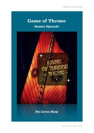 Game of throne Theme - Cover Easy version - Lever Harp Argt Eve McTelenn