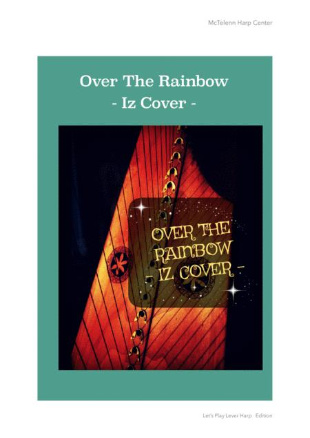 Over The Rainbow  - Iz Cover - For Lever Harp By Eve McTelenn - Only Score