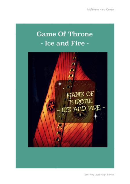 Game Of Throne - Ice & Fire - For Lever Harp By Eve McTelenn - Only Score
