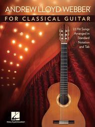 Andrew Lloyd Webber for Classical Guitar