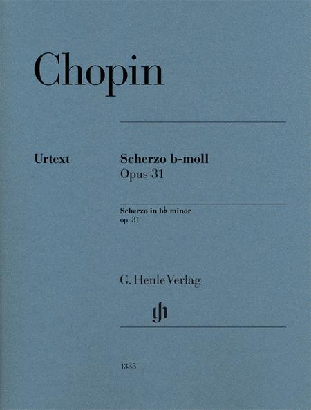 Scherzo in B-Flat Minor, Op. 31 - Revised Edition
