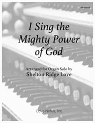 I Sing the Mighty Power of God