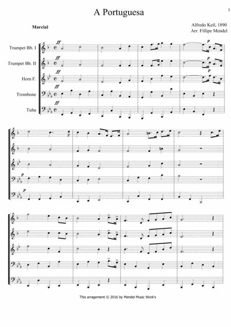 Download National Anthem Of Portugal Sheet Music By Alfredo
