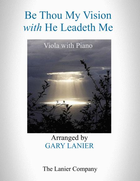 BE THOU MY VISION with HE LEADETH ME (Viola with Piano - Instrument Part included)