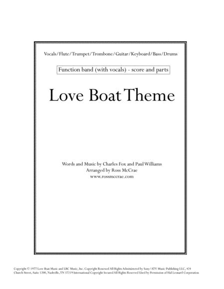 Love Boat Theme (Vocals + Band)