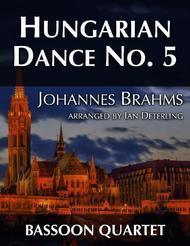 Hungarian Dance No. 5 (for Bassoon Quartet)