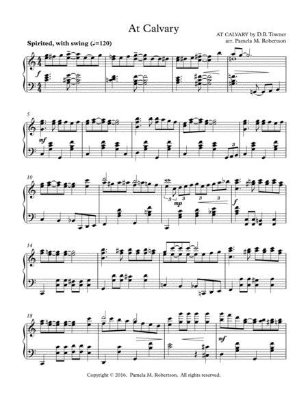 At Calvary - Piano Solo