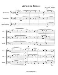 Amazing Grace - Trombone Trio