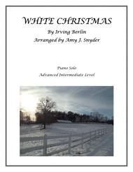 White Christmas, piano solo
