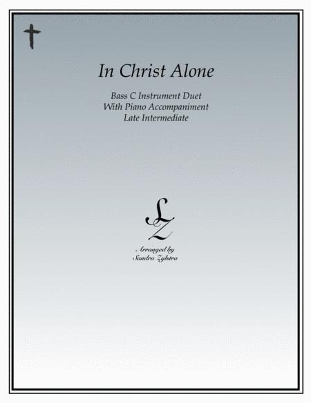 In Christ Alone (bass C instrument duet)