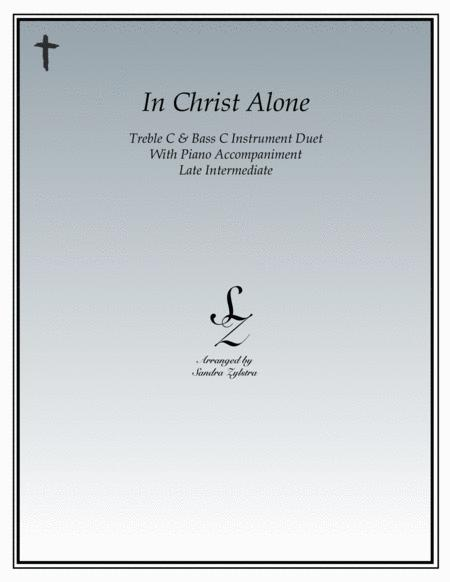 In Christ Alone (treble and bass C duet)