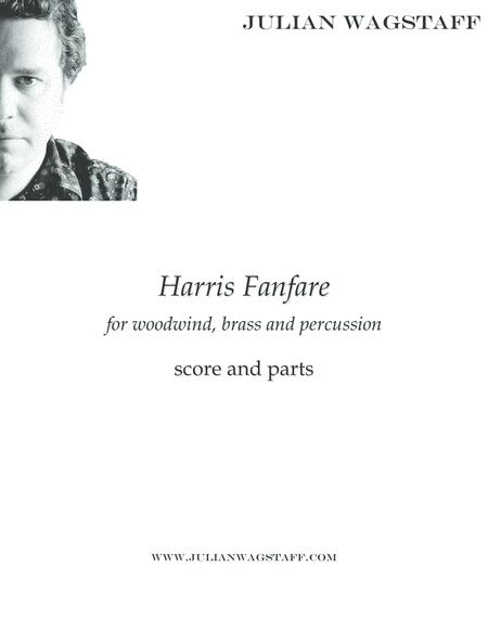 Harris Fanfare (for woodwind, brass and percussion) - score and parts