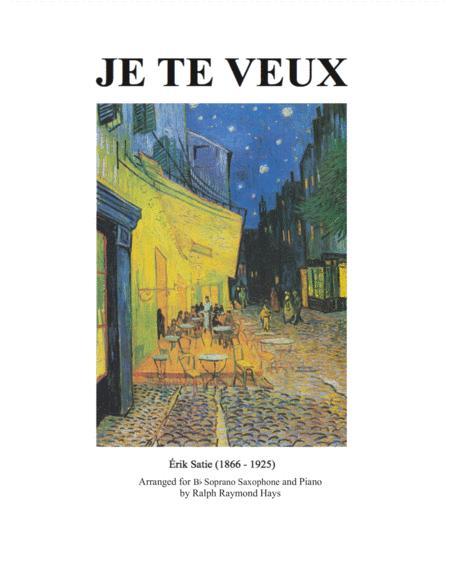 Je Te Veux (for soprano sax and piano)