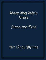 Sheep May Safely Graze, arranged for Piano and Flute, from my book