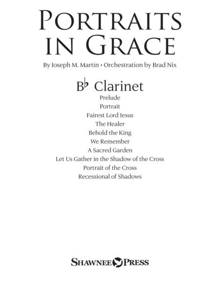 Portraits in Grace - Bb Clarinet