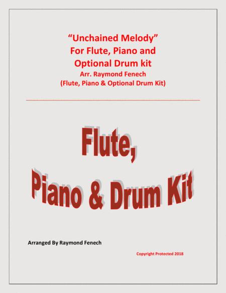 Unchained Melody - Solo Flute, Piano and Optional Drum