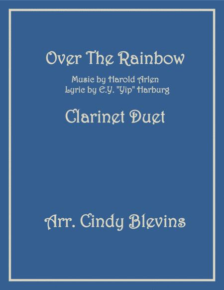 Over The Rainbow (from The Wizard Of Oz), arranged for Bb Clarinet Duet