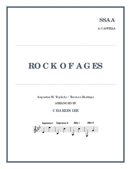 Rock of Ages - SSAA a cappella