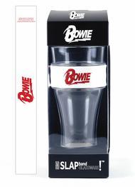 David Bowie Slap Band Single Pint Glassware