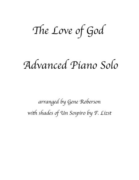 The Love of God Piano Solo