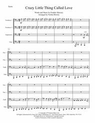 Crazy Little Thing Called Love - Tuba/Euphonium Quartet