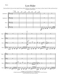 Low Rider - Tuba/Euphonium Quartet
